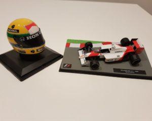 Il casco di Senna in edicola, a 30 anni dal primo Mondiale