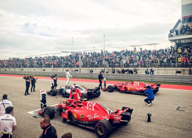 USA: pole di Hamilton poi le Ferrari. Ma Vettel partirà 5°