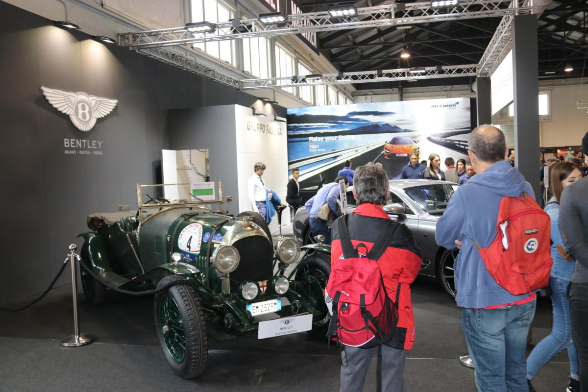 Bentley: un secolo di storia ad Auto e Moto d'Epoca