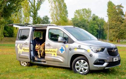 Con Opel Combo Life ed ENPA #SpazioAllaFelicità, anche dei cani