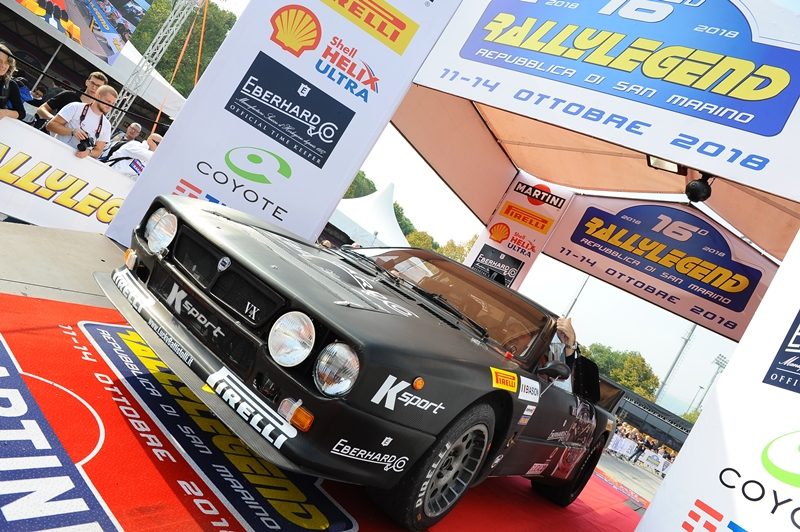 Rallylegend 2018: grande spettacolo a San Marino