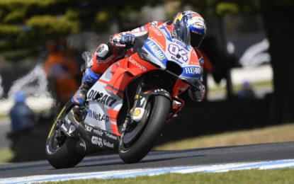 Australia: 3° e 4° fila in qualifica per i piloti Ducati