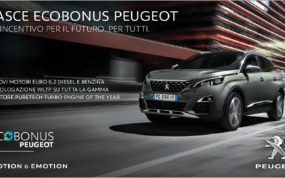 ECOBONUS Peugeot: contributi concreti