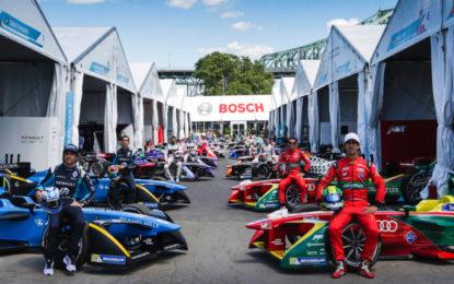 Bosch partner ufficiale del Campionato ABB FIA Formula E