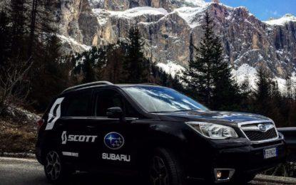 Subaru partecipa alla SCOTT Experience 2.0