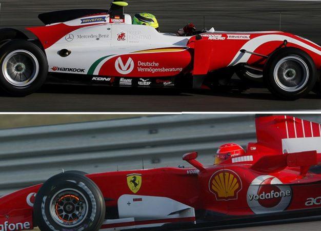 Mick e Michael Schumacher: freni Brembo, ma quante differenze!