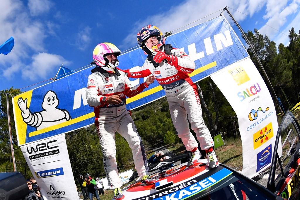 WRC: Loeb porta Citroën alla vittoria in Spagna