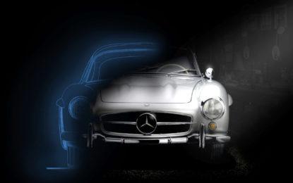 La 300 SL protagonista del concorso MB Classic Garage