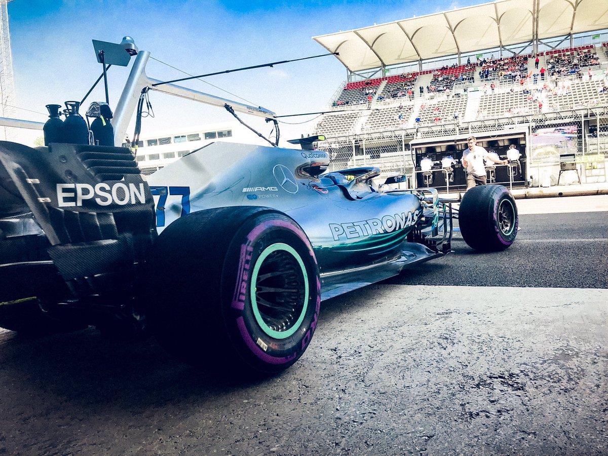 Messico: la FIA dà l'ok ai cerchi Mercedes
