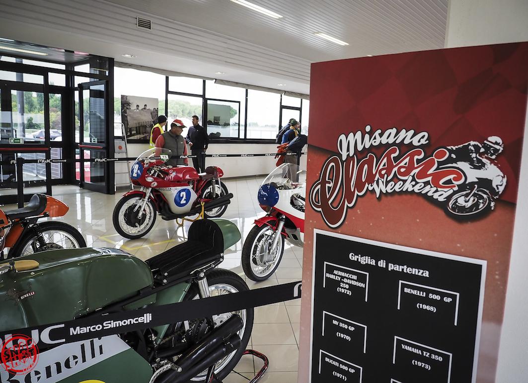 Tantissime attività al Misano Classic Weekend