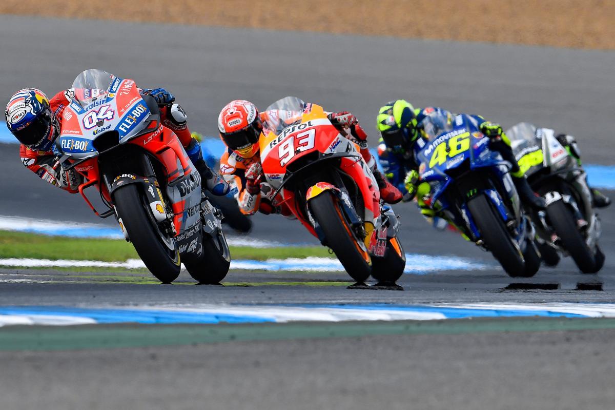 MotoGP Australia: gli orari del weekend in TV