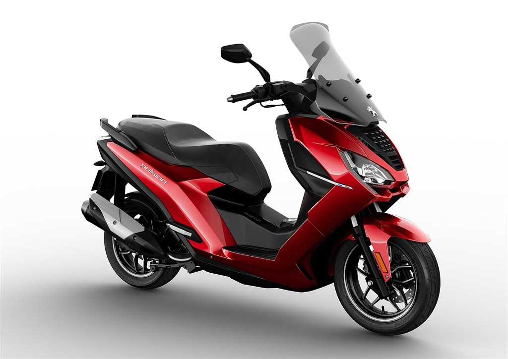 EICMA: Peugeot Motocycles Pulsion