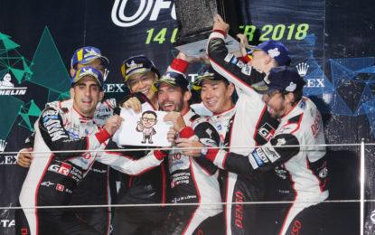 WEC: doppietta Toyota alla 6 Ore del Fuji
