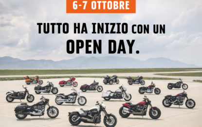 H-D Open Day: tutte le novità 2019 in un weekend