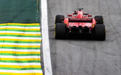 Brasile: per la Ferrari un buon venerdì