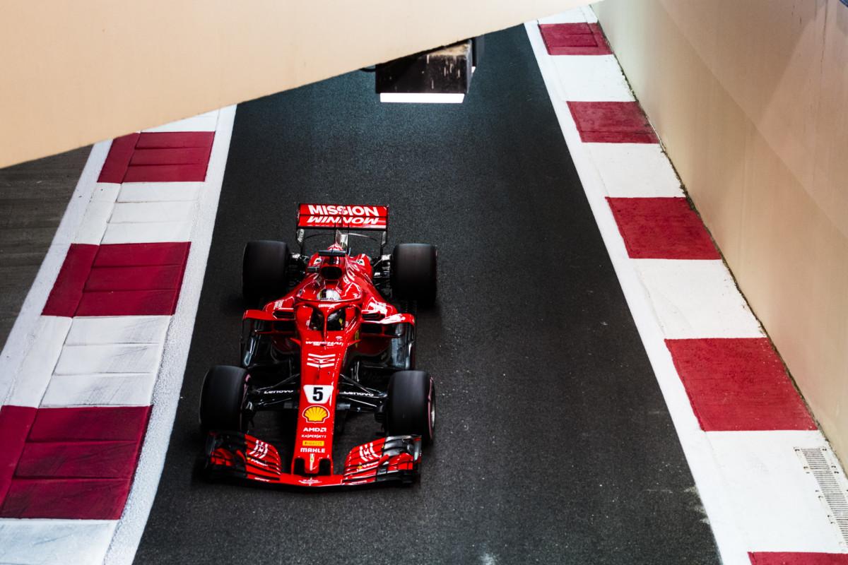 Ferrari soddisfatta della seconda fila in qualifica a Yas Marina