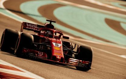 Per Vettel finalmente è vacanza!