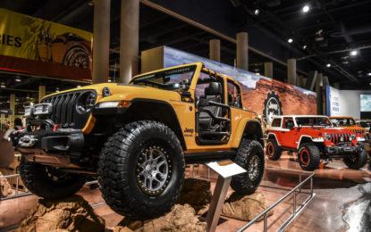 Quattro Jeep speciali al SEMA Show