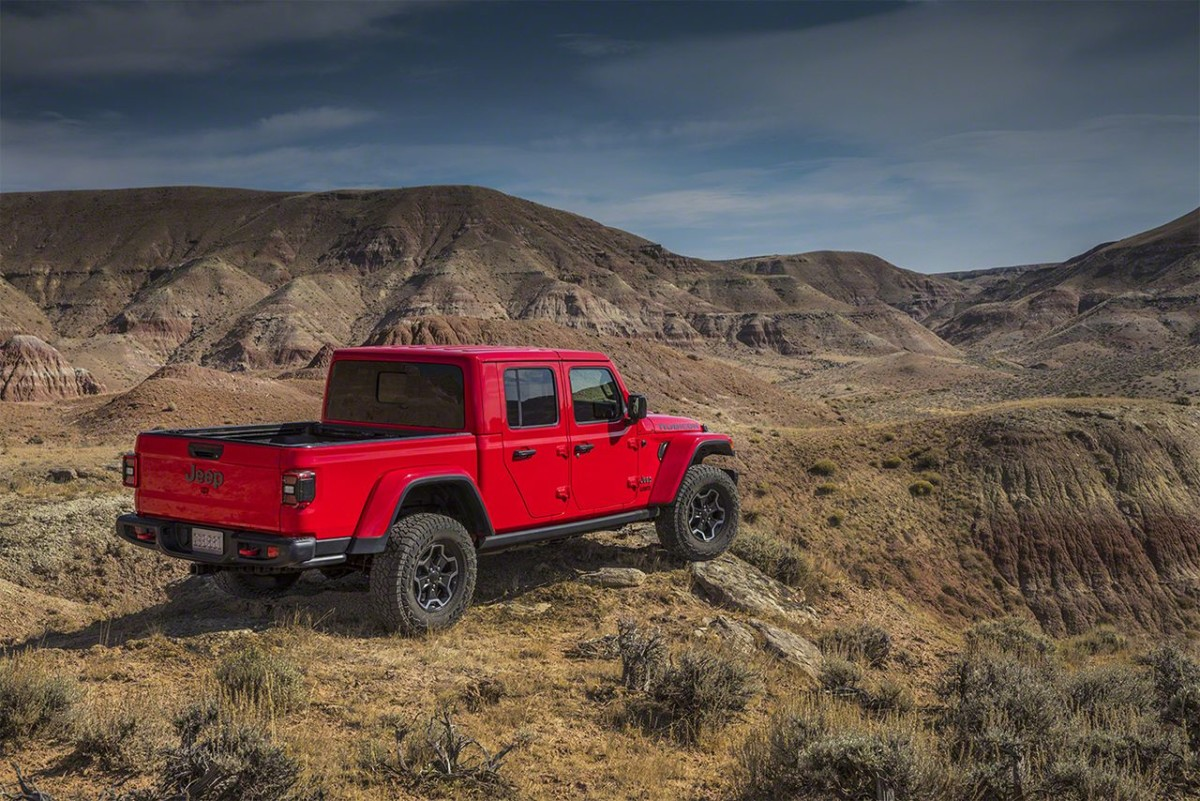 Nuova Jeep Gladiator 2020