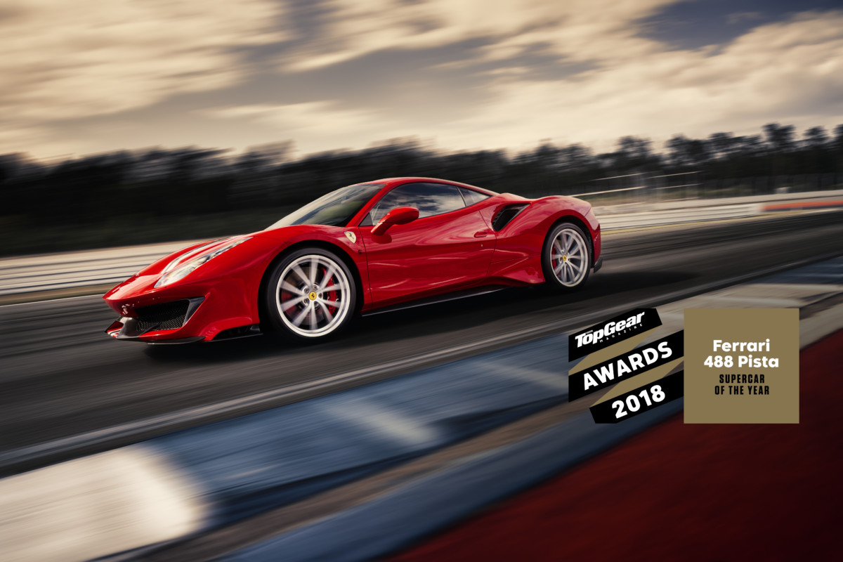 Ferrari 488 Pista Supercar of the Year