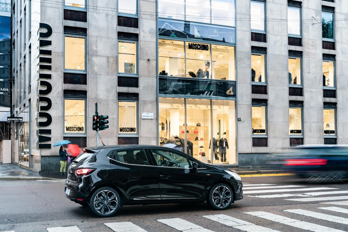 Renault CLIO si veste MOSCHINO
