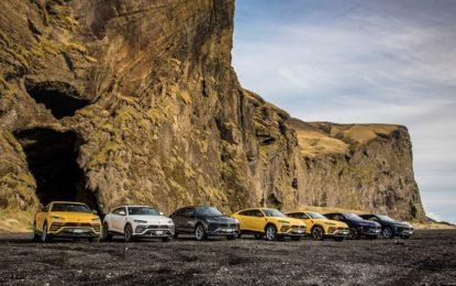 Lamborghini Avventura: Urus alla scoperta dell'Islanda