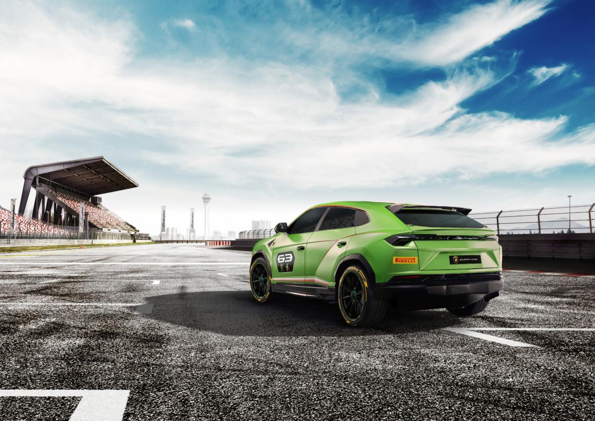 Lamborghini Urus ST X Concept