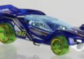 Hot Wheels in giallo e blu per Valentino Rossi
