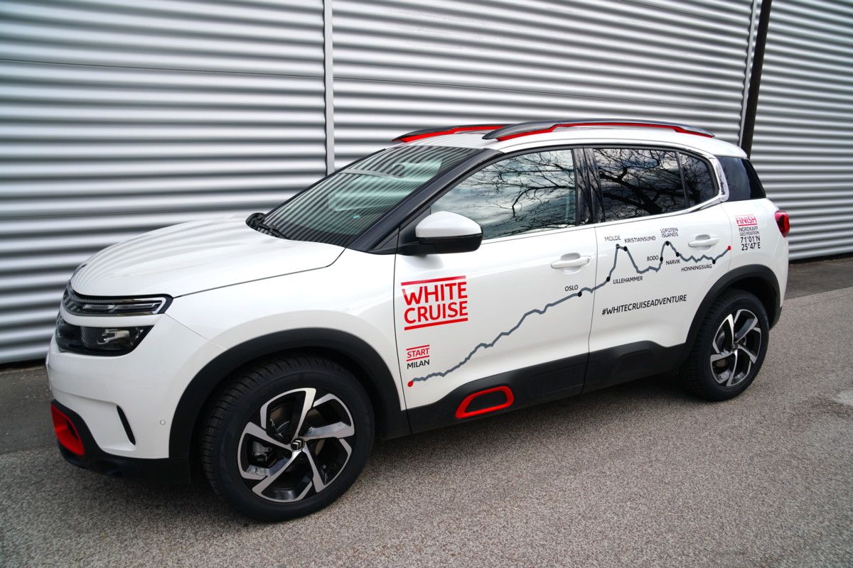 Citroen C5 Aircross 71° N Limited Edition alla White Cruise