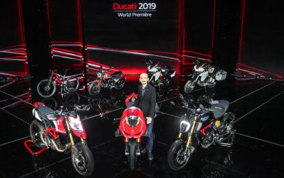 Ducati presenta le novità che vedremo a EICMA