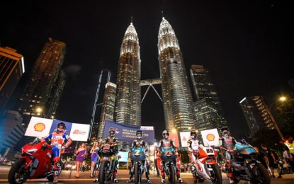 MotoGP Malesia: gli orari del weekend in TV