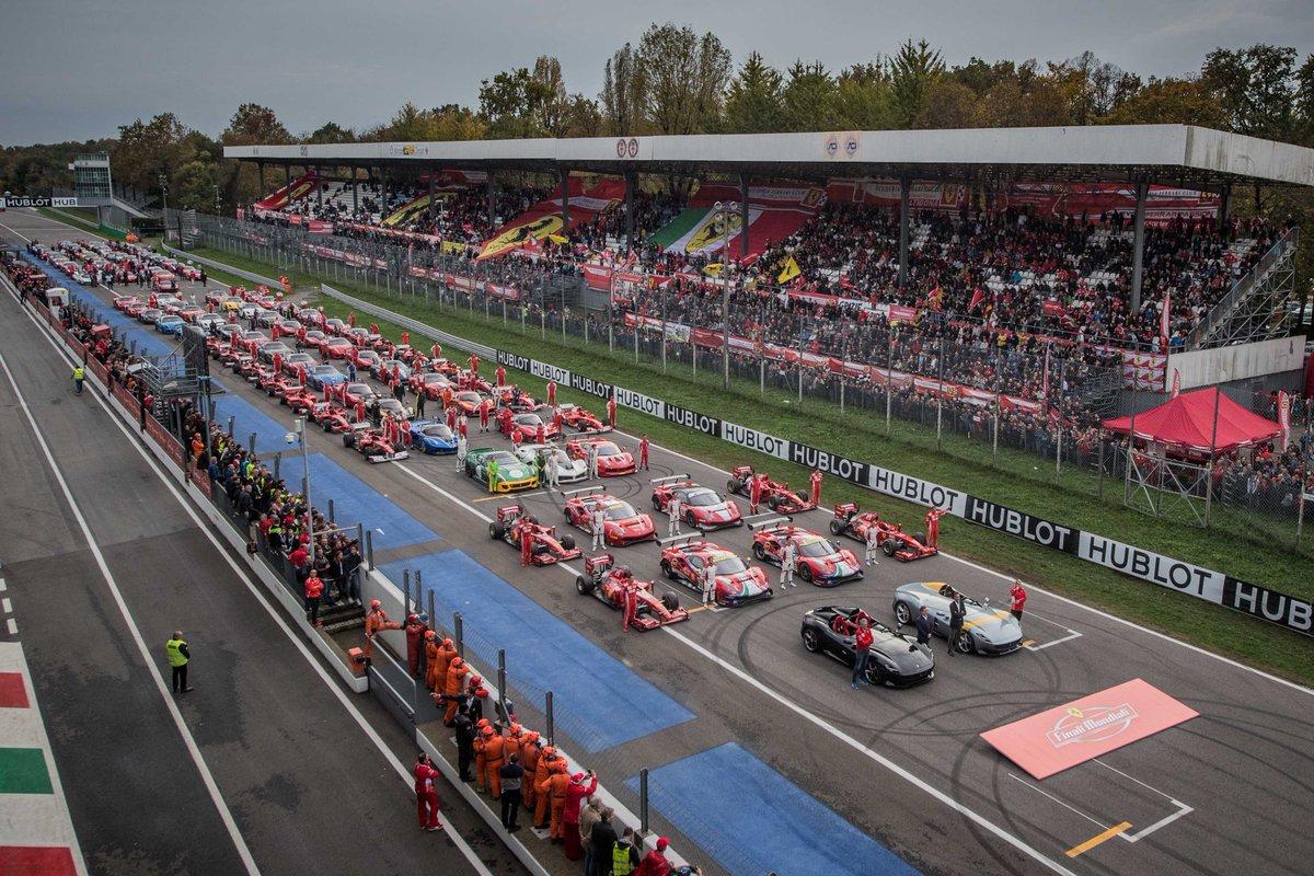 Conclusa a Monza la grande festa Ferrari