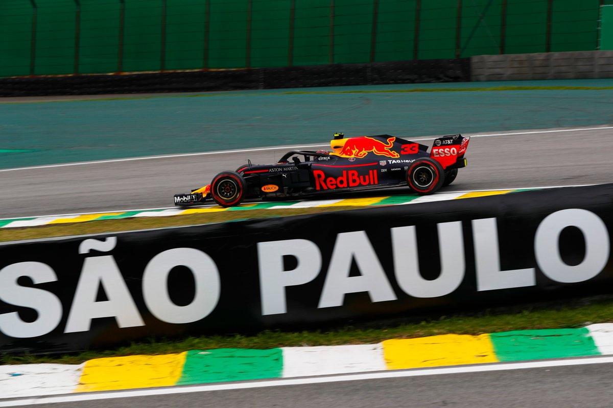 Brasile: Verstappen-Vettel-Hamilton nelle FP1