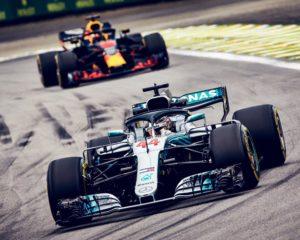 Brasile: Max vicinissimo, ma vince Hamilton, 3° Kimi. Mercedes campione