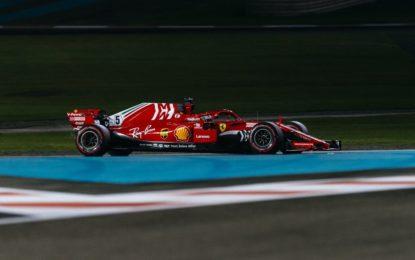 Abu Dhabi: Vettel 2°. Raikkonen saluta col 3° posto nel Piloti
