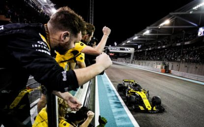 Per Renault Sport F1 il quarto posto nel Costruttori
