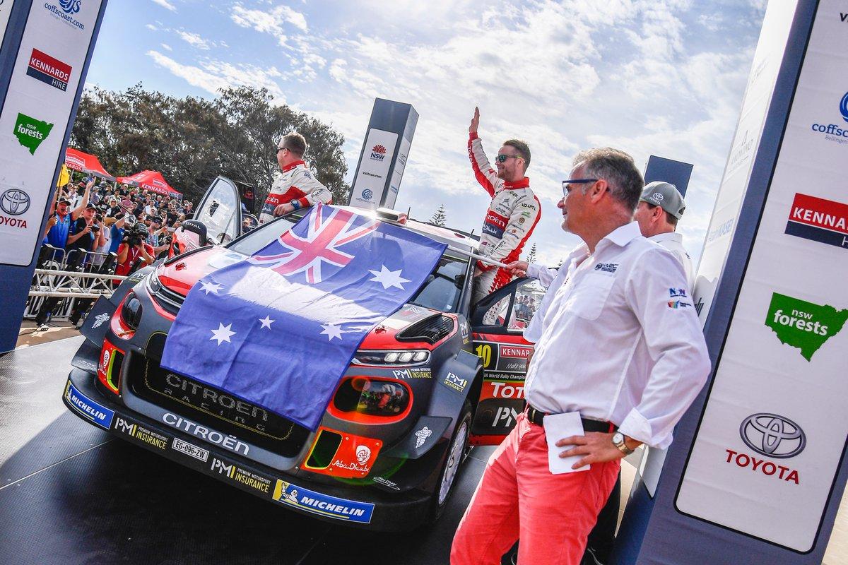WRC: Ostberg e Citroën sul terzo gradino in Australia