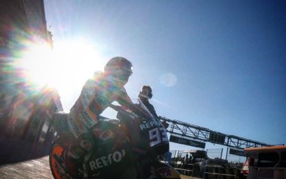 Valencia: moto in pista per i primi test 2019. Anche in TV