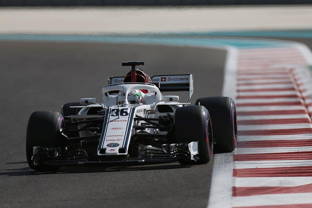 Alfa-Sauber conclude i test con Giovinazzi