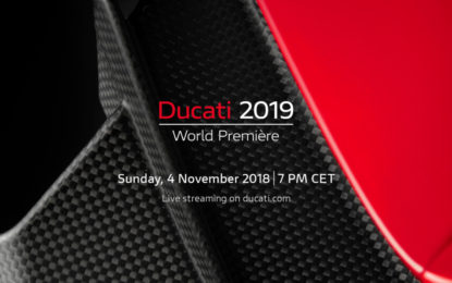 Domenica Ducati World Première 2019 in live streaming
