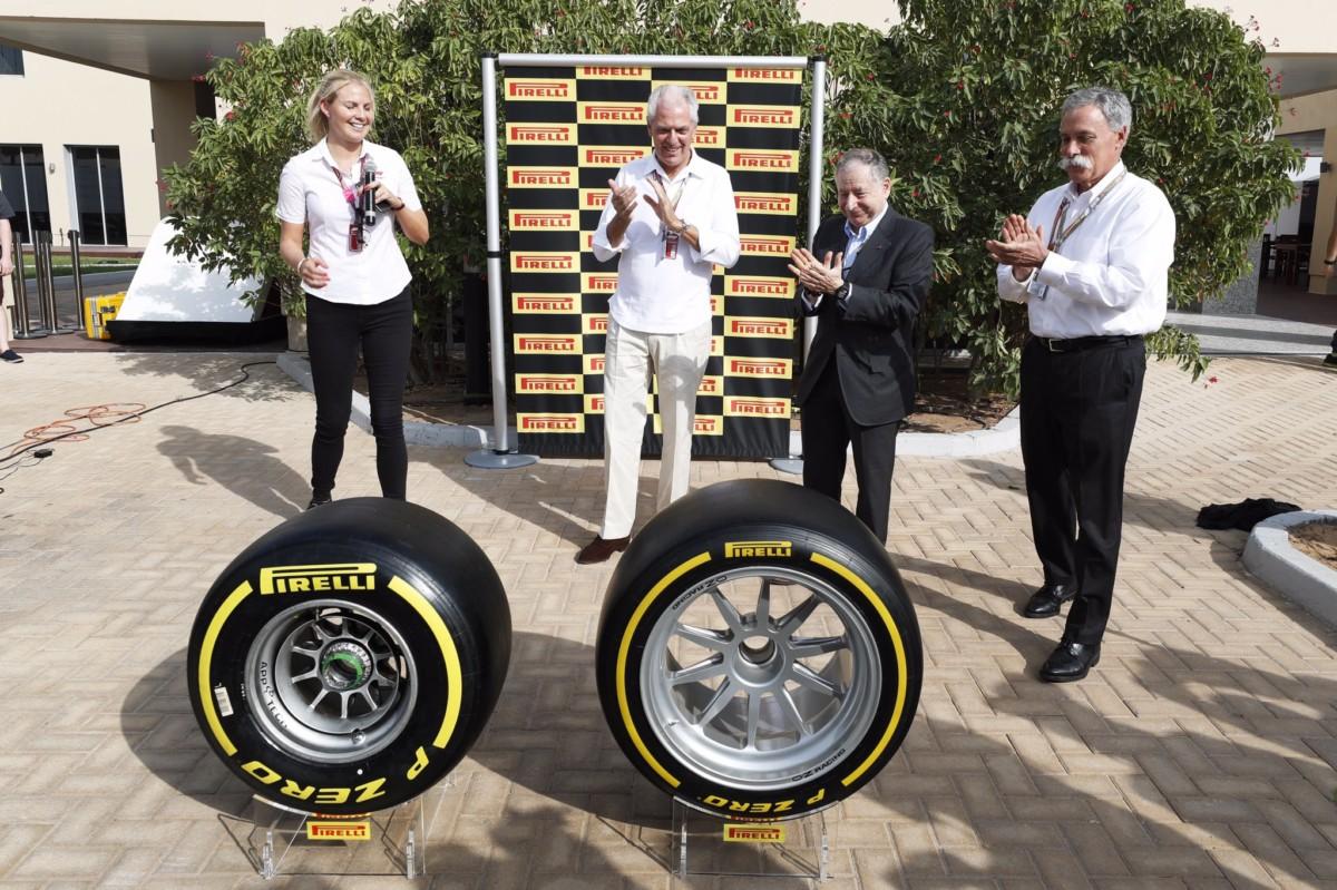 Pirelli in Formula 1 fino al 2023
