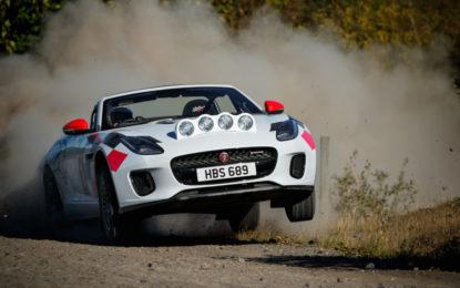 Due F-TYPE Rally per i 70 anni delle sportive Jaguar