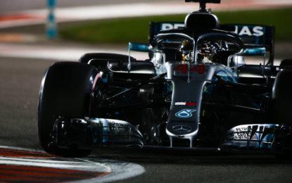 Pole position da record per Hamilton ad Abu Dhabi