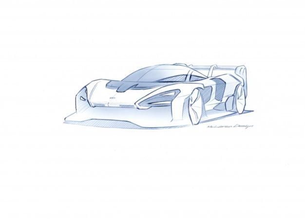 McLaren Senna GTR, l'hypercar solo per la pista