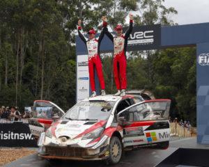 WRC: in Australia Toyota vince gara e Costruttori