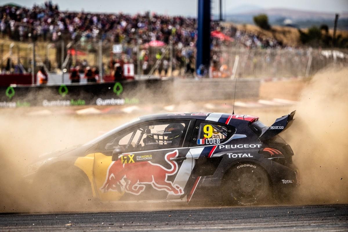 Peugeot lascia il Rallycross con il podio di Loeb