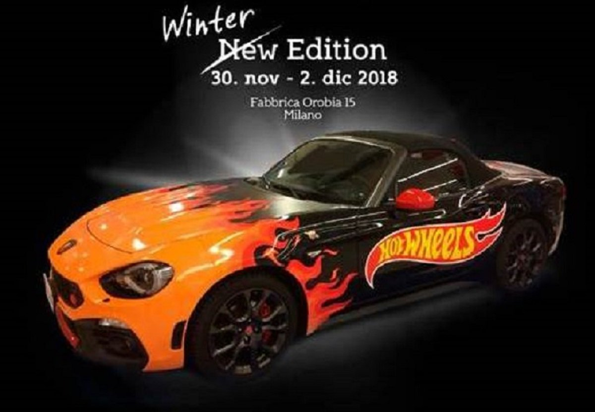 Hot Wheels Abarth sfreccia a Man's World