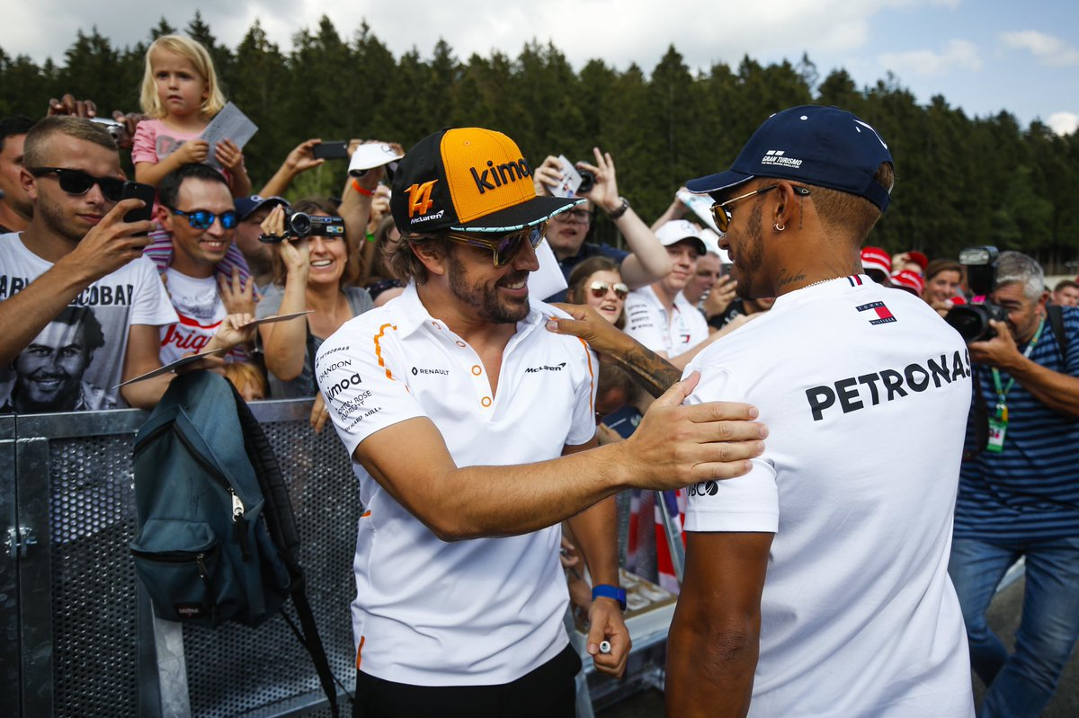 I dubbi di Hamilton sulle scelte di Alonso