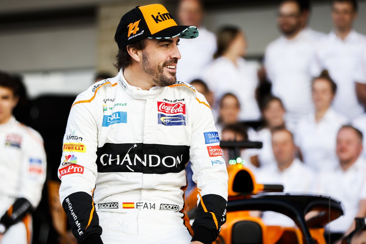 Alonso: possibile il test McLaren. Ma un sedile nel 2019 no