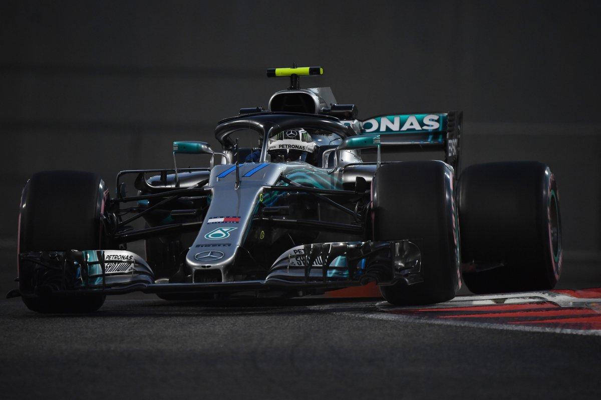 Abu Dhabi: FP2 a Bottas, davanti alle Red Bull